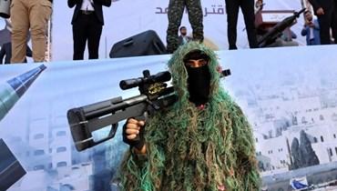 """""""حماس"""" (أ ف ب)."""