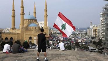 لبنان المكان والزمان