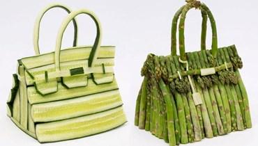 حقائب فاخرة من الخيار والبصل الأخضر