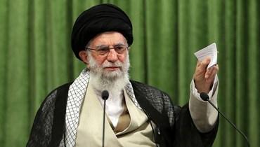 المرشد الإيراني آية الله علي خامنئي (أ ف ب).