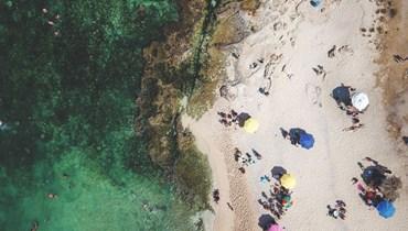 شاطئ لبناني