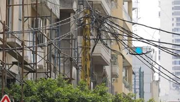 امدادات الكهرباء (تعبيرية - تصوير نبيل اسماعيل).