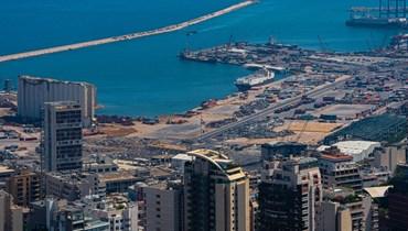 مرفأ بيروت كما بدا اليوم (نبيل اسماعيل).