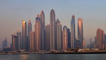 منظر من دبي (31 ايار 2021، أ ف ب).