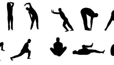 حركات التمدد للجسم.