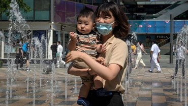 الحياة في الصين (أ ف ب).