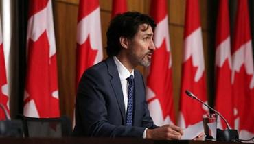 رئيس الوزراء الكندي جاستن ترودو (أ ف ب).