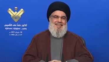 نصر الله: سنستورد المحروقات من إيران ولتمنعنا الدولة