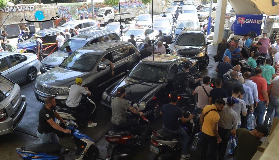أزمة المحروقات (تصوير مارك فياض وحسام شبارو).