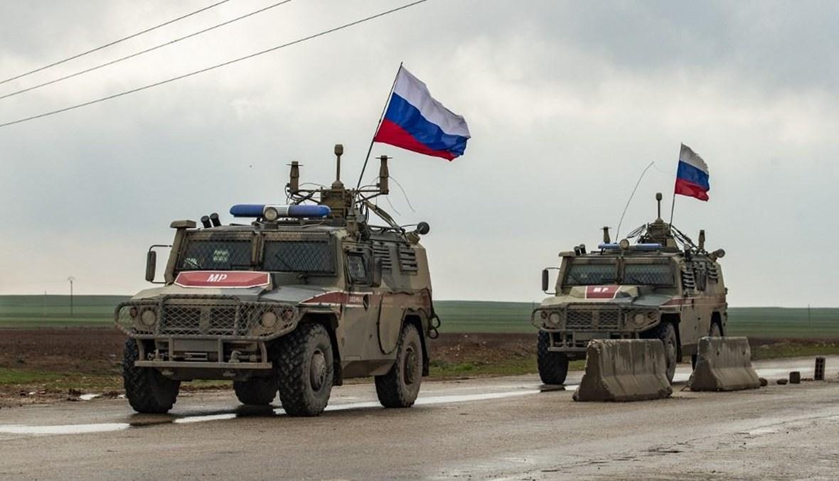 سقوط جندي روسي بانفجار في الحسكة