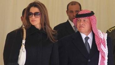 الملكة رانيا تهنئ العاهل الأردني بذكرى زواجهما الـ28