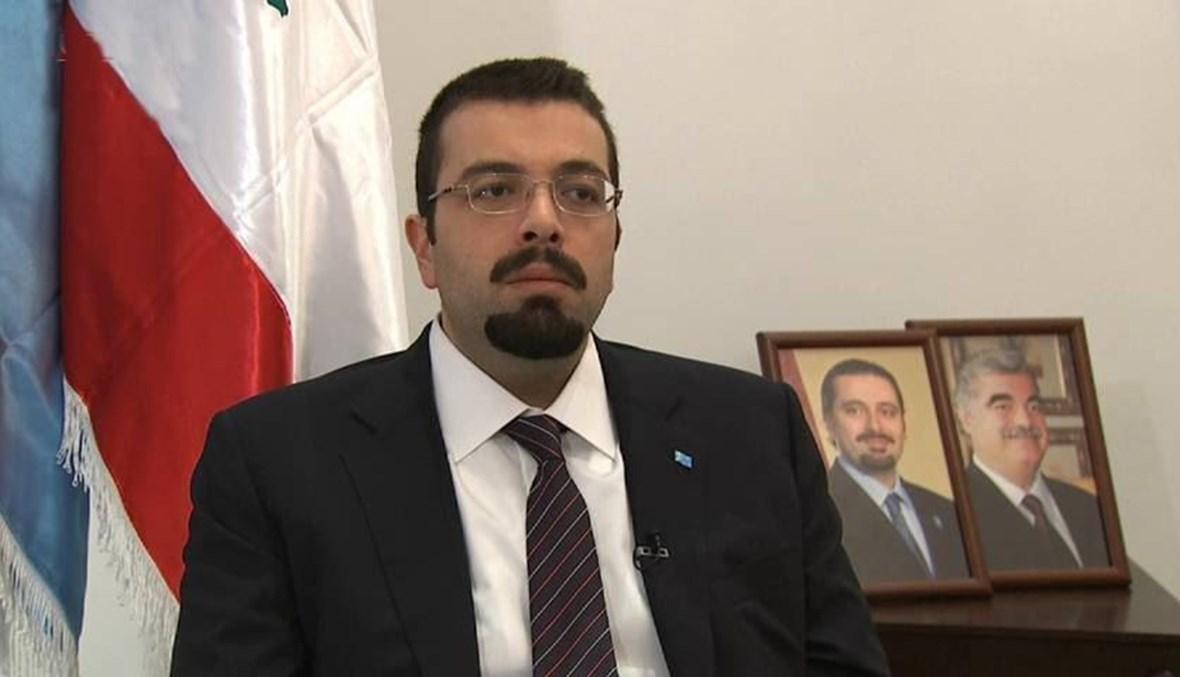 الأمين العام لتيار المستقبل أحمد الحريري