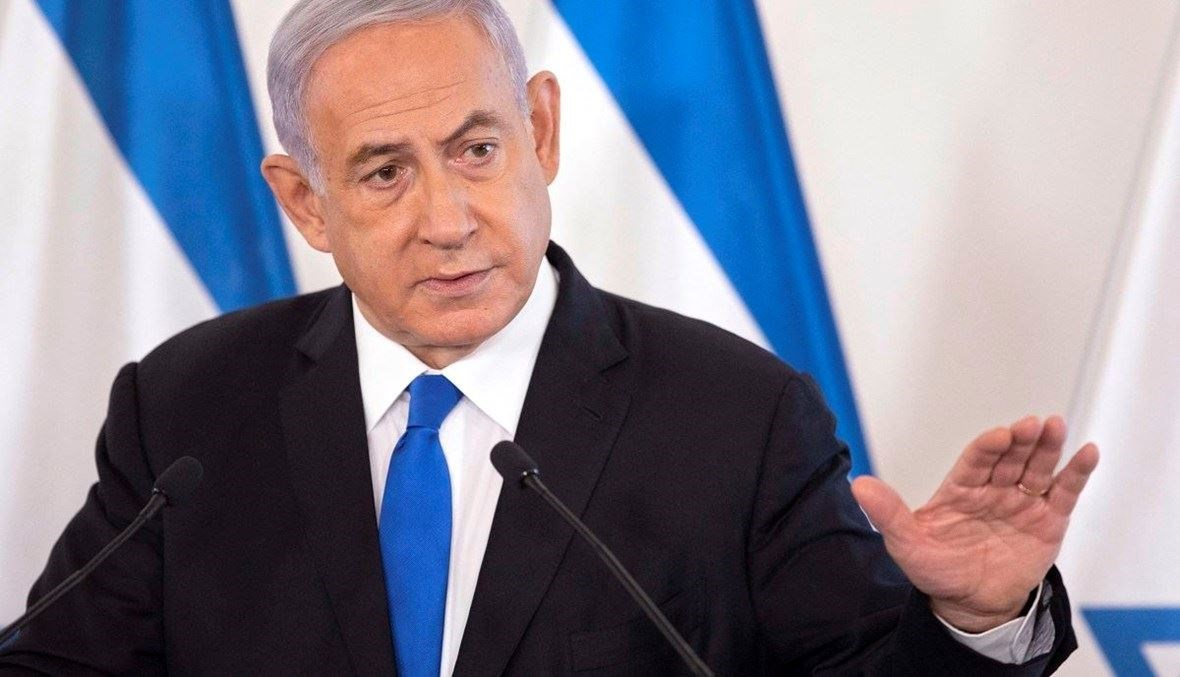 رئيس الوزراء الإسرائيلي بنيامين نتنياهو .