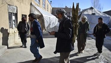 حركة طالبان (أ ف ب).