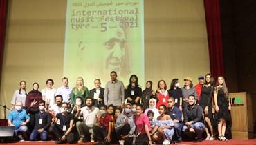 صورة جماعية من الحفل.