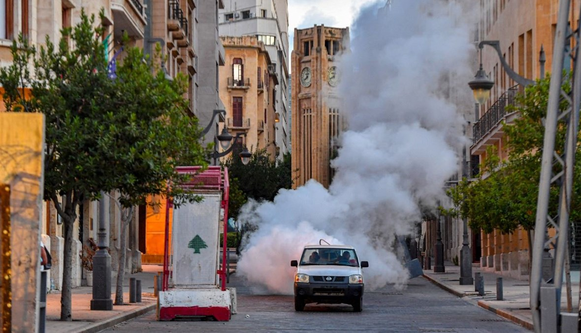 وسط بيروت (نبيل اسماعيل).