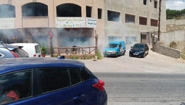 الجيش الإسرائيلي أطلق قنابل دخانية على مقهى في العديسة وعلى راع في سهل مرجعيون