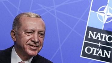 الرئيس التركي رجب طيب إردوغان (أ ف ب).
