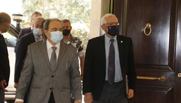 بوريل يلوّح بالعقوبات في بيروت: لا مساعدات مالية واقتصادية من دون اتفاق مبدئي مع صندوق النقد