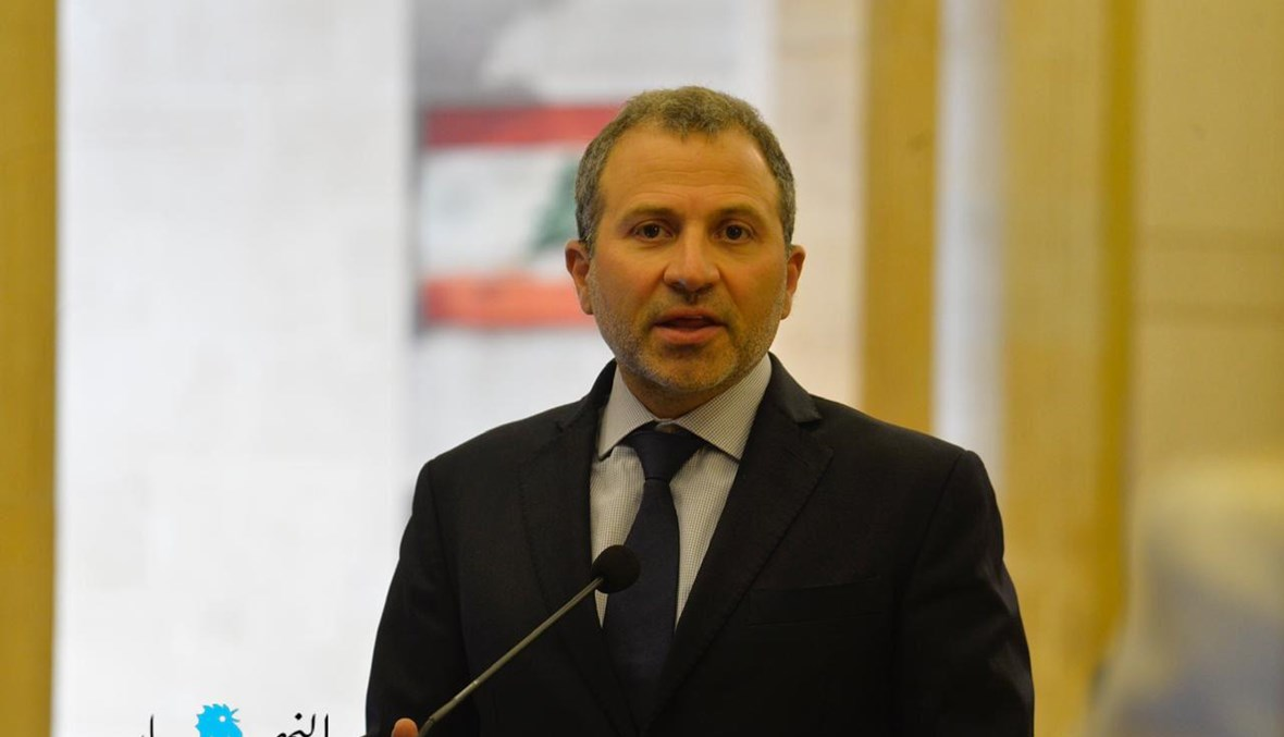 النائب جبران باسيل (حسام شبارو).