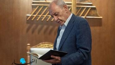 رئيس مجلس النواب نبيه برّي (نبيل اسماعيل).