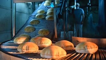خبز (تصوير حسام شبارو)