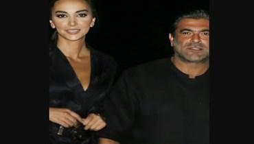 وائل كفوري وشانا عبود.