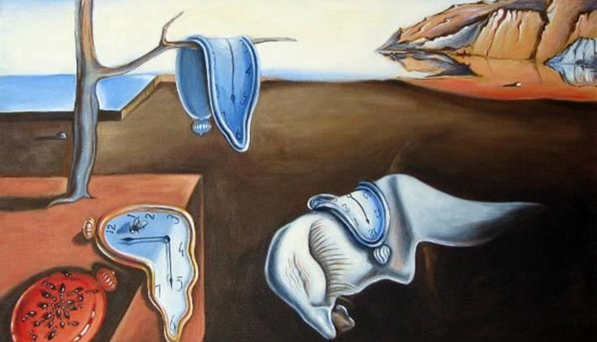 لوحة لسلفادور دالي- تعبيرية.