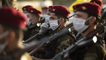 الحشد العراقي (ا ف ب)
