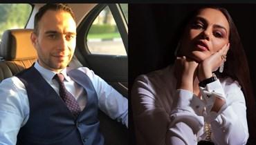 شيريهان وحسام حبيب.