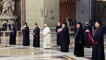 يوم الصلاة في روما: لا لحلف الأقليات ومحاور العزلة