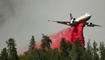 إطفاء الحرائق في كاليفورنيا (أ ف ب).