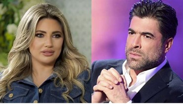 وائل كفوري وأنجيلا يشارة.