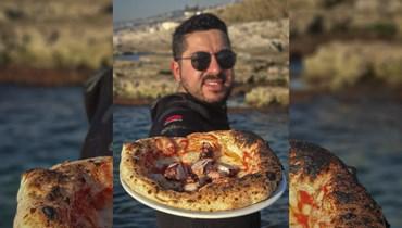 """بيتزا """"نابولي"""" الإيطالية بأنامل لبنانية... مارك نيسان: ستبقى بيروت عاصمة أحلامي (فيديو)"""