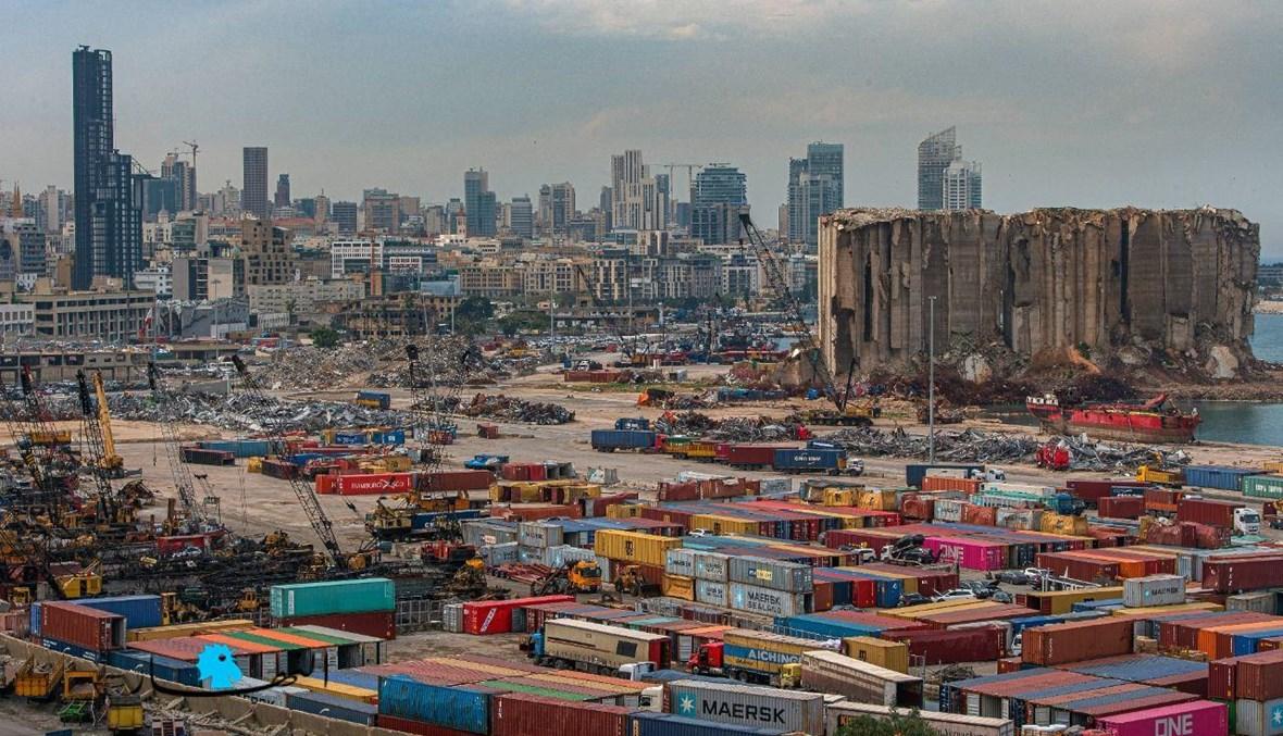 """""""اليوم أنا قادم من بيروت، التي فَجّر ميناءها مزيجٌ من اللؤم والجهل والغطرسة"""" (تعبيرية - تصوير نبيل اسماعيل)."""