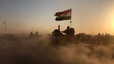جنود سوريون في صورة من الارشيف.