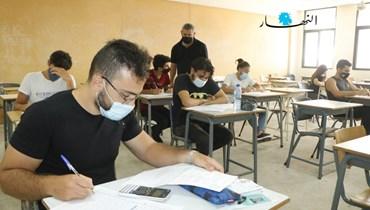 اليوم الأول لامتحانات التعليم المهني... ما رأي التلامذة بالأسئلة والجوّ العام؟ (صور)