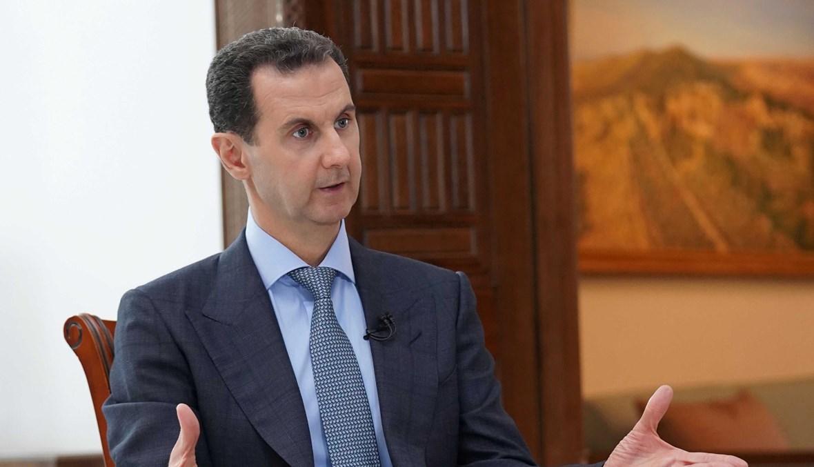 الأسد:الأموال المجمدة في لبنان أكبر عائق للإستثمار