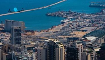 مرفأ بيروت (تعبيرية - تصوير نبيل اسماعيل).