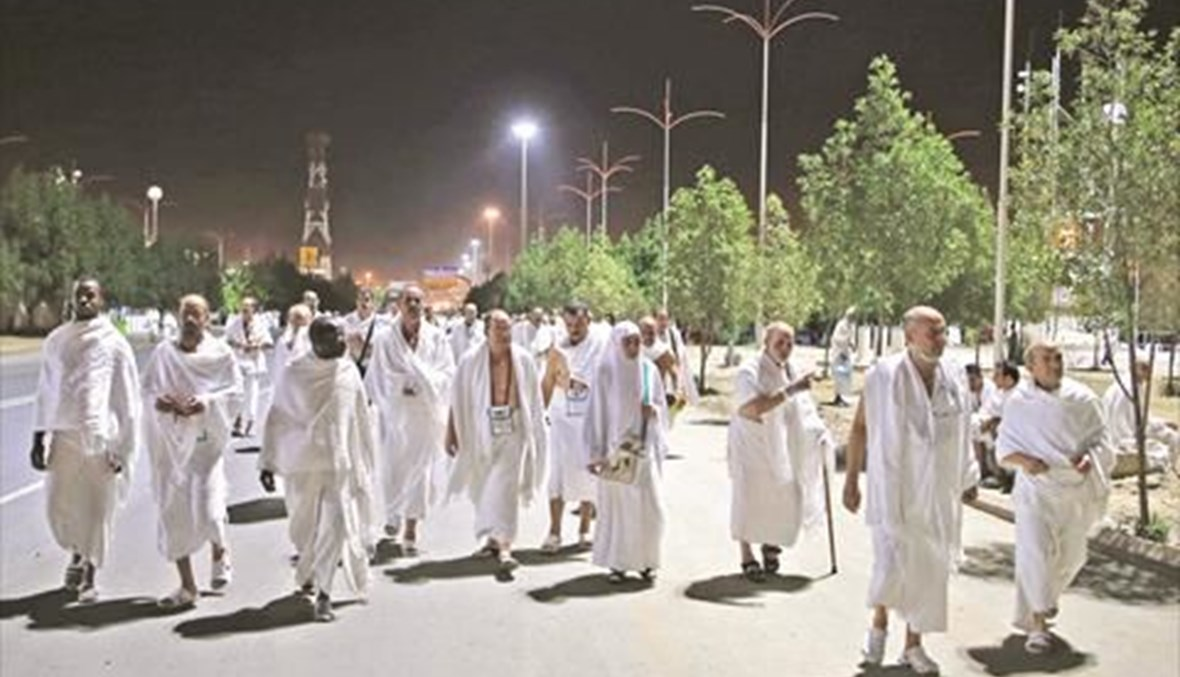 الحجاج  في السعودية.