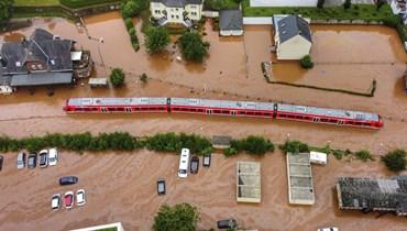 الفيضانات في ألمانيا.