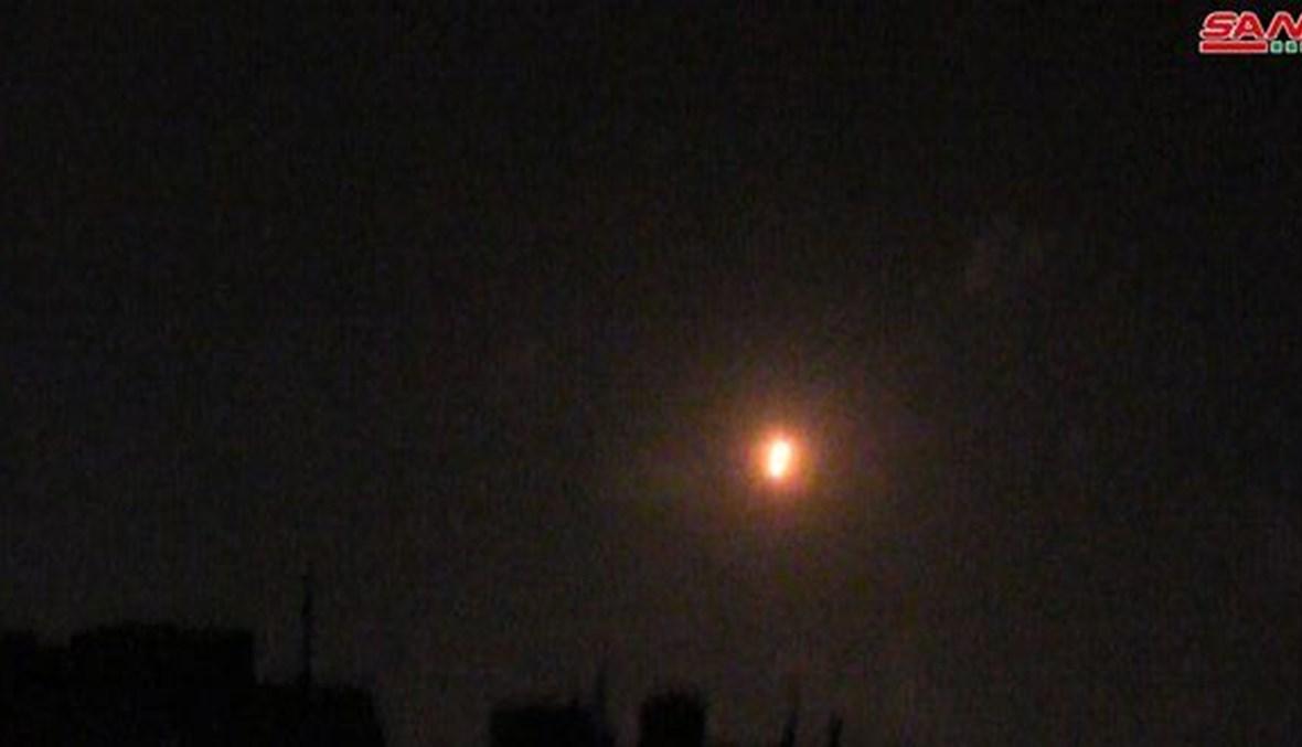 الدفاعات السورية تصدّت  فجر الخميس لصواريخ إسرائيلية (سانا).