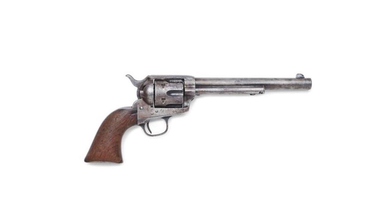 المسدس الذي استُخدم في قتل بيلي ذا كيد.