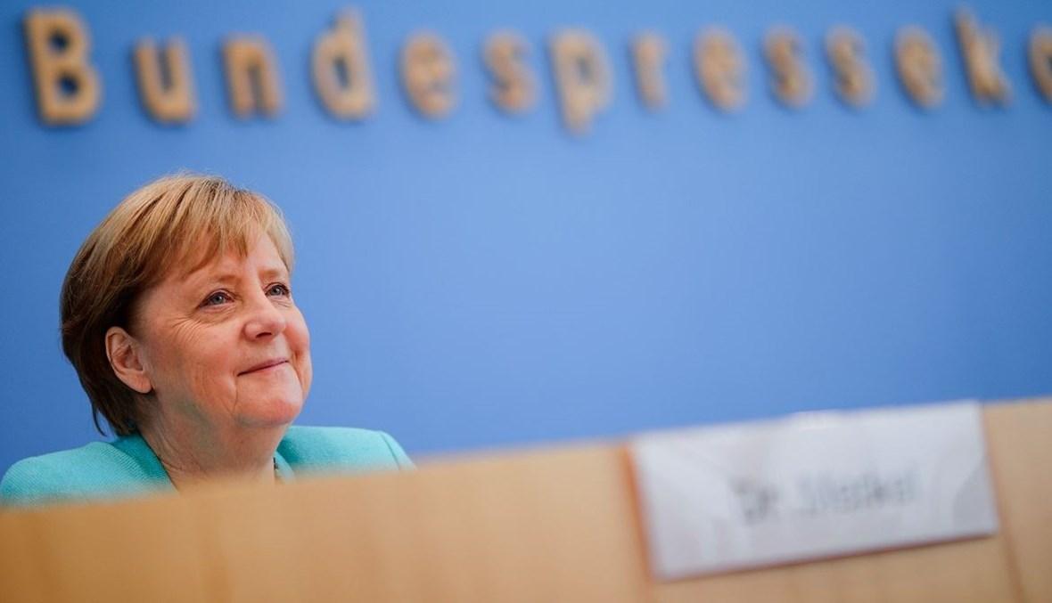 المستشارة الألمانية أنجيلا ميركل (أ ف ب).