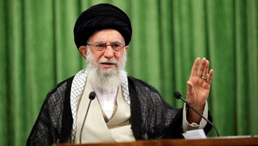 المرشد الإيراني الأعلى علي خامنئي (أ ف ب).