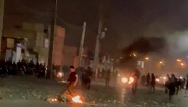 من احتجاجات ايران