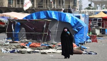 الصورة تبرز حجم الفقر في العراق
