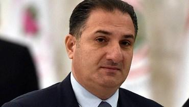 وزير الاتصالات في حكومة تصريفا لأعمال طلال حواط.