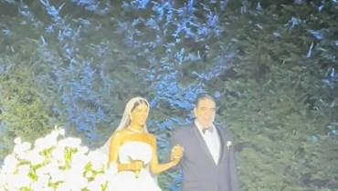 حفل زفاف ابنة نوار الساحلي.