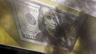 الدولار.
